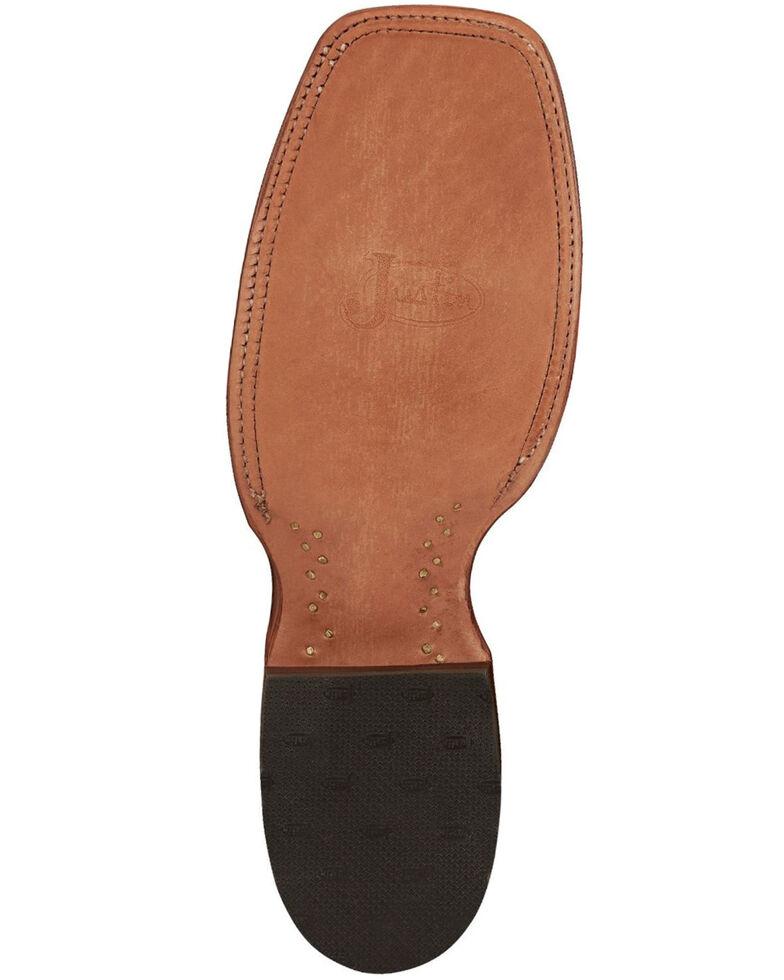 Justin Men's Mingus Benedictine Western Boots - Narrow Square Toe, Tan, hi-res