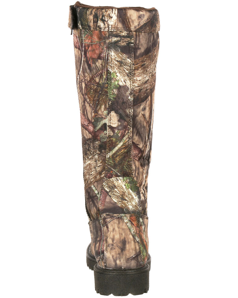 Rocky Men's Low Country Waterproof Snake Boots - Round Toe, Camouflage, hi-res