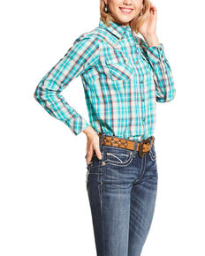 Ariat Women's R.E.A.L. Sweetheart Long Sleeve Western Shirt - Plus, Multi, hi-res