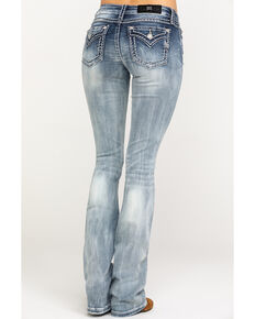 a1742a05fa6e Miss Me Women s Signature Light 36 Inseam Boot Jeans