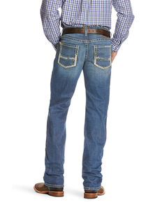 Ariat Men's M5 Nolan Slim Stackable Stretch Straight Leg Jeans , Blue, hi-res