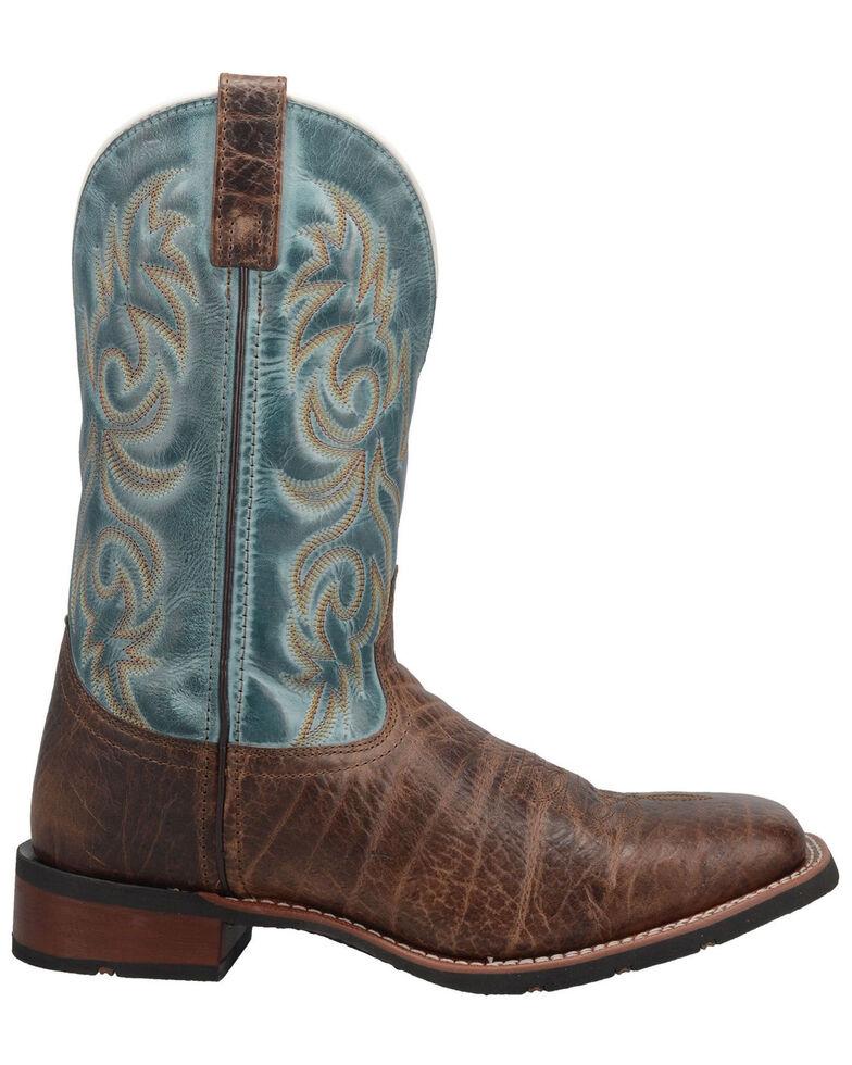 Laredo Men's Bisbee Western Boots - Wide Square Toe, Brown, hi-res
