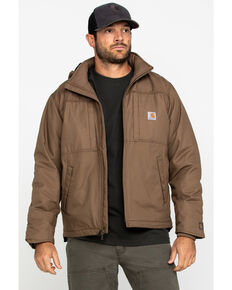 Carhartt Men's Full Swing Cryder Work Jacket, Canyon, hi-res