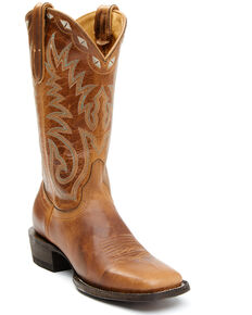 Idyllwind Women's Drifter Performance Western Boots - Wide Square Toe, Tan, hi-res