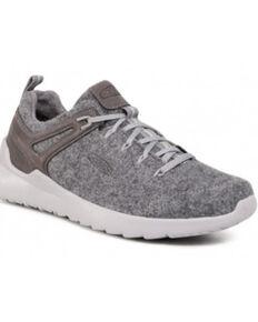 Keen Men's Steel Grey Drizzle Highland Arway Lace-Up Hiking Sneaker , Steel, hi-res