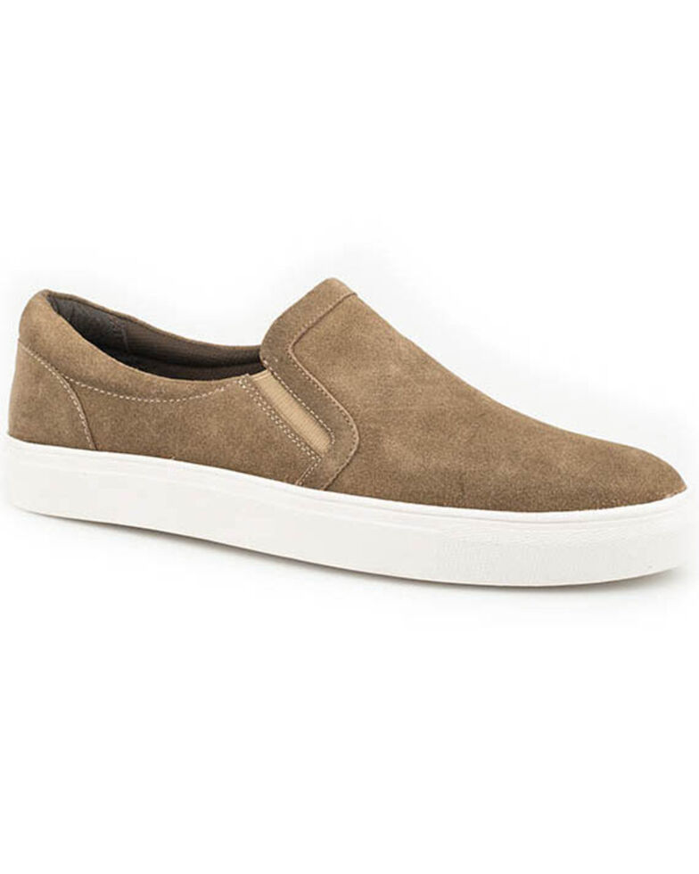 Roper Men's Worker Slip-On Shoes, Tan, hi-res