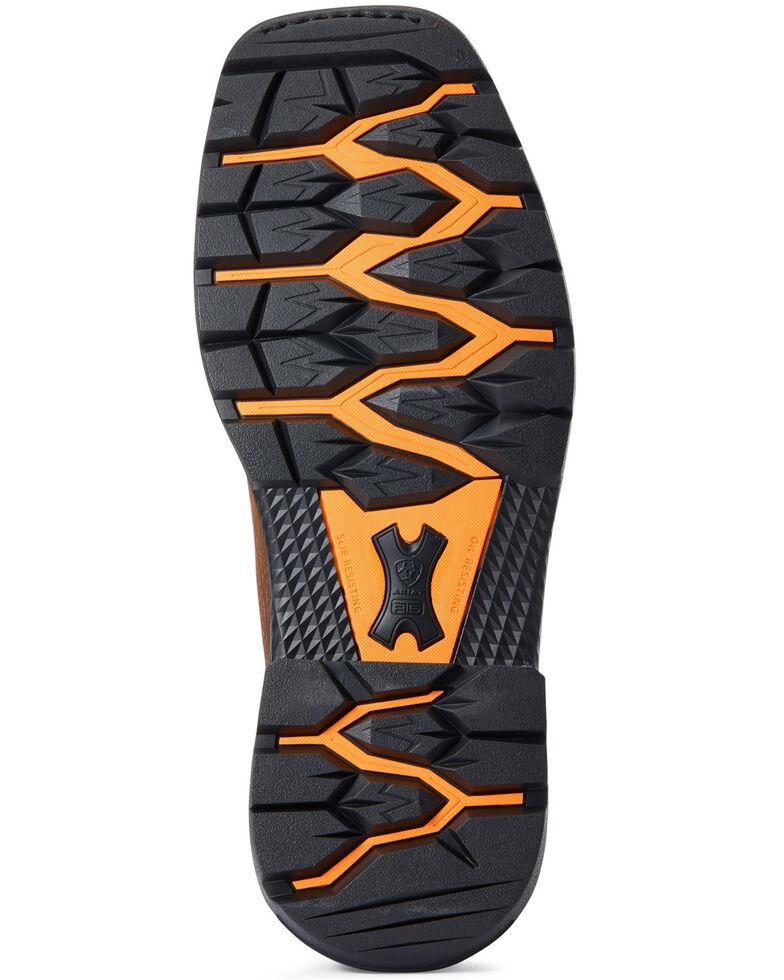 Ariat Men's Big Rig Western Boots - Square Toe, Brown, hi-res