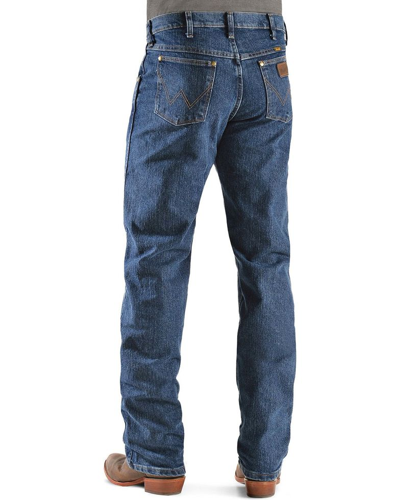 Wrangler Men's Premium Performance Advanced Comfort Mid Stone Jeans - Big & Tall, Med Stone, hi-res
