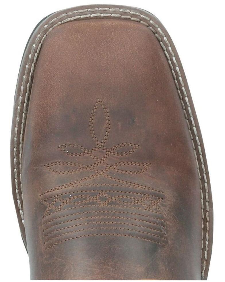 Smoky Mountain Men's Waylon Western Boots - Square Toe, Brown, hi-res