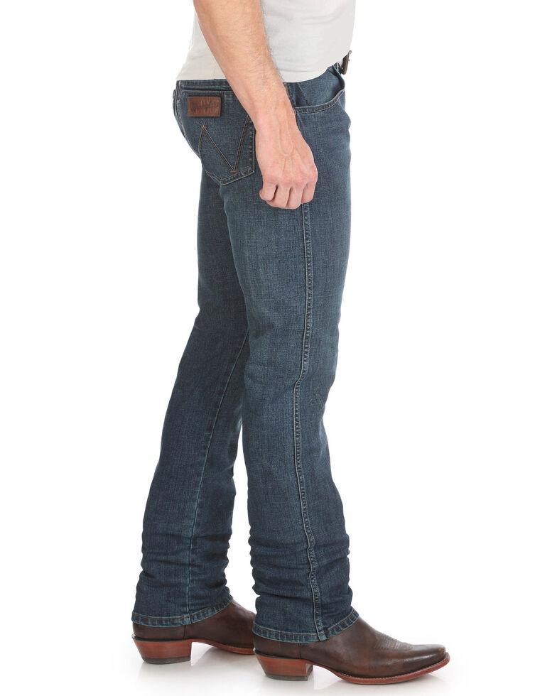 Wrangler Retro Men's Portland Dark Slim Straight Jeans , Blue, hi-res