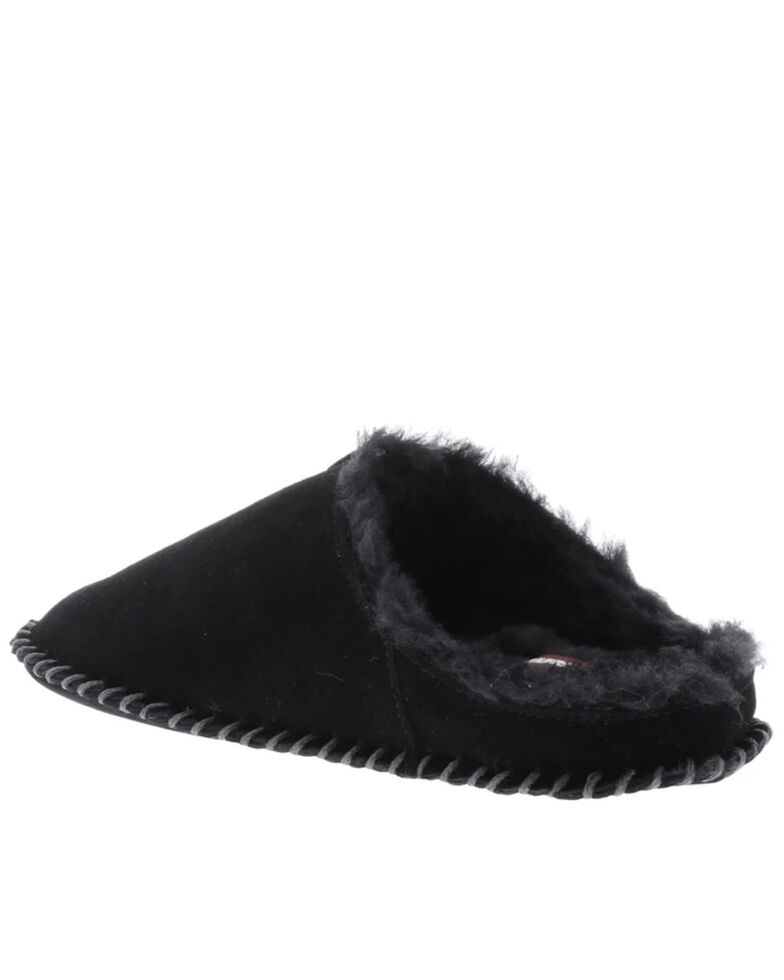 Lamo Men's Isaac Black Slippers, Black, hi-res