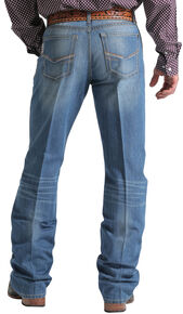 Cinch Men's Grant Mid-Rise Boot Cut Jeans, Indigo, hi-res