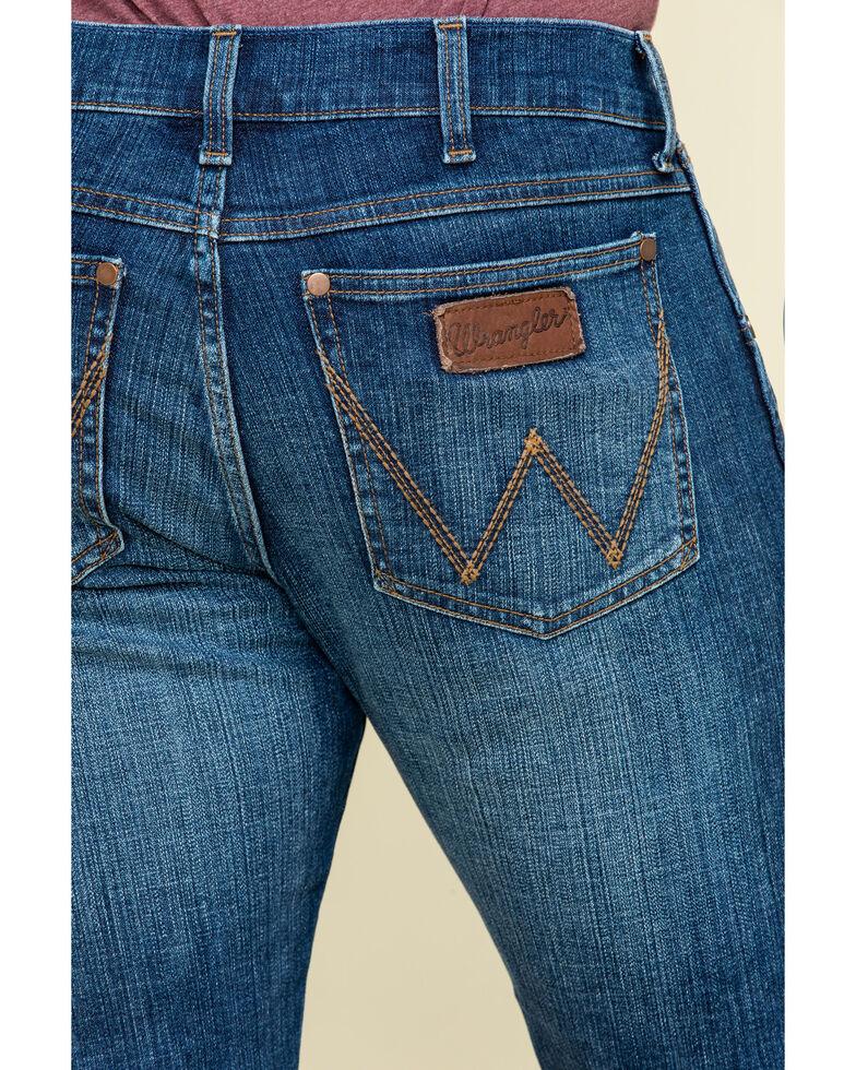 Wrangler Retro Men's Luling Stretch Slim Boot Jeans - Long , Blue, hi-res