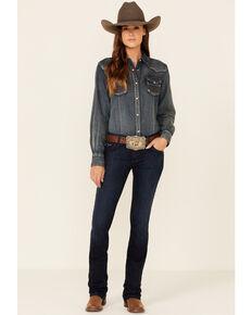 Kimes Ranch Women's Dark Wash Audrey Bootcut Jeans , Blue, hi-res