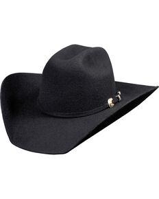 Bullhide Kingman 4X Felt Cowboy Hat , Black, hi-res