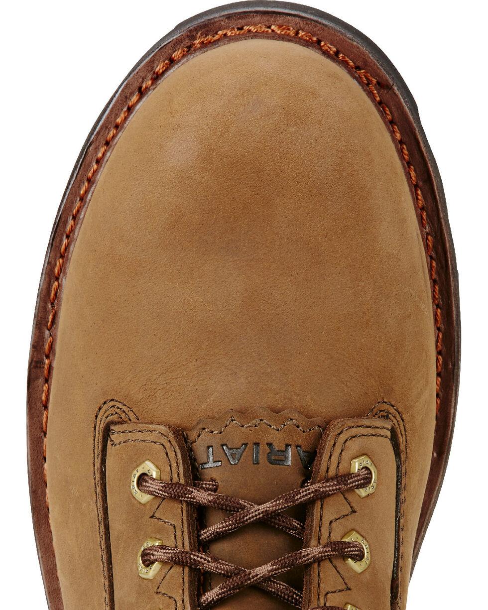 "Ariat Men's Brown Powerline H20 400g 8"" Work Boots - Composite Toe, Brown, hi-res"