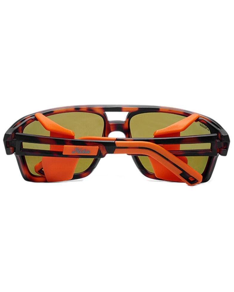 Hobie Men's El Matador Satin Brown Tortoise Frame Polarized Sunglasses , Brown, hi-res