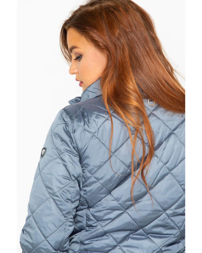 Ariat Women's Portico Puffer Jacket, Grey, hi-res