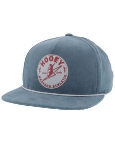 Hooey Men's Blue Buzz Circle Patch Ball Cap , Black, hi-res