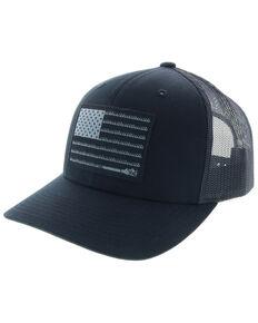 088658a09a7 HOOey Men s Liberty Roper Flag Trucker Cap