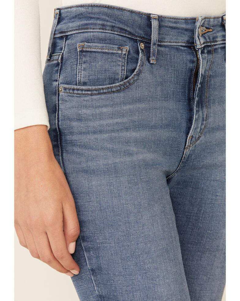 Levi's Women's 725 Lapis Speed Bootcut Jeans, Blue, hi-res