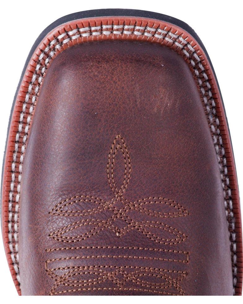 Laredo Men's Heath Dark Brown Cowboy Boots - Square Toe , Dark Brown, hi-res