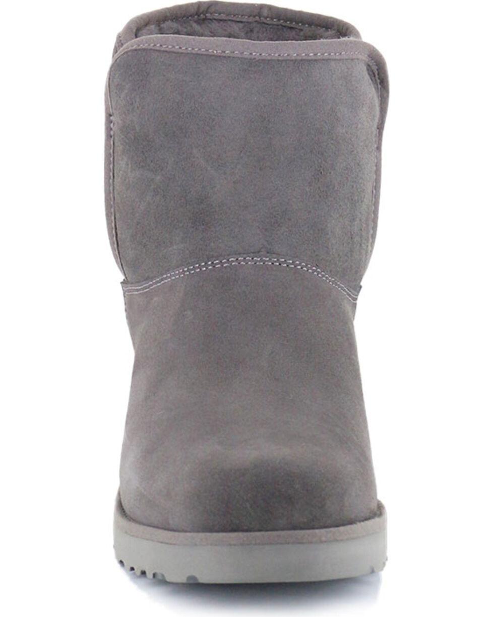UGG Women's Grey Kristin Boots - Round Toe, Grey, hi-res