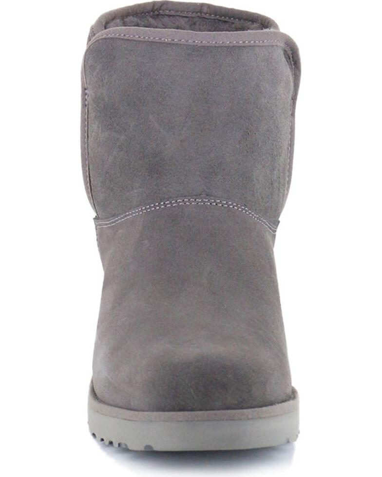 a5bc3bc21b1 UGG Women's Grey Kristin Boots - Round Toe