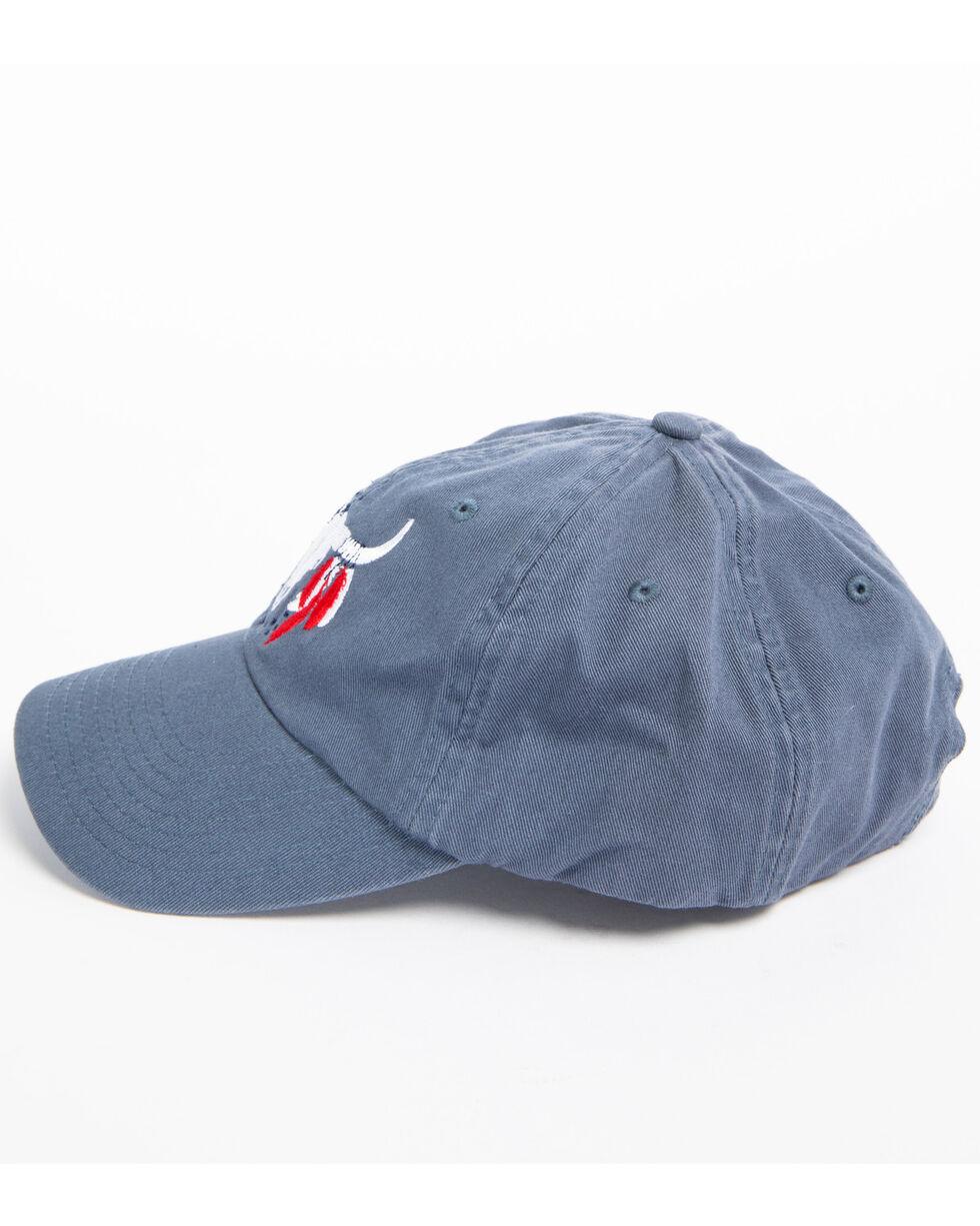 Shyanne Women's American Bullhead Cap, Blue, hi-res