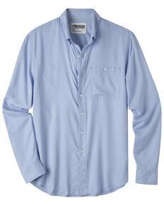 Mountain Khakis Men's Passport EC Long Sleeve Shirt , Blue, hi-res
