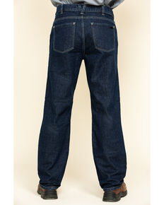 Hawx® Men's FR Denim Straight Work Jeans , Indigo, hi-res