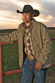 STS Ranchwear Men's Bridger Jacket - 2XL-3XL, Mushroom, hi-res