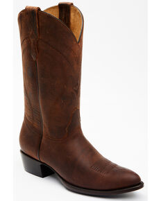 Cody James Men's Hensley Western Boots - Round Toe, Brown, hi-res