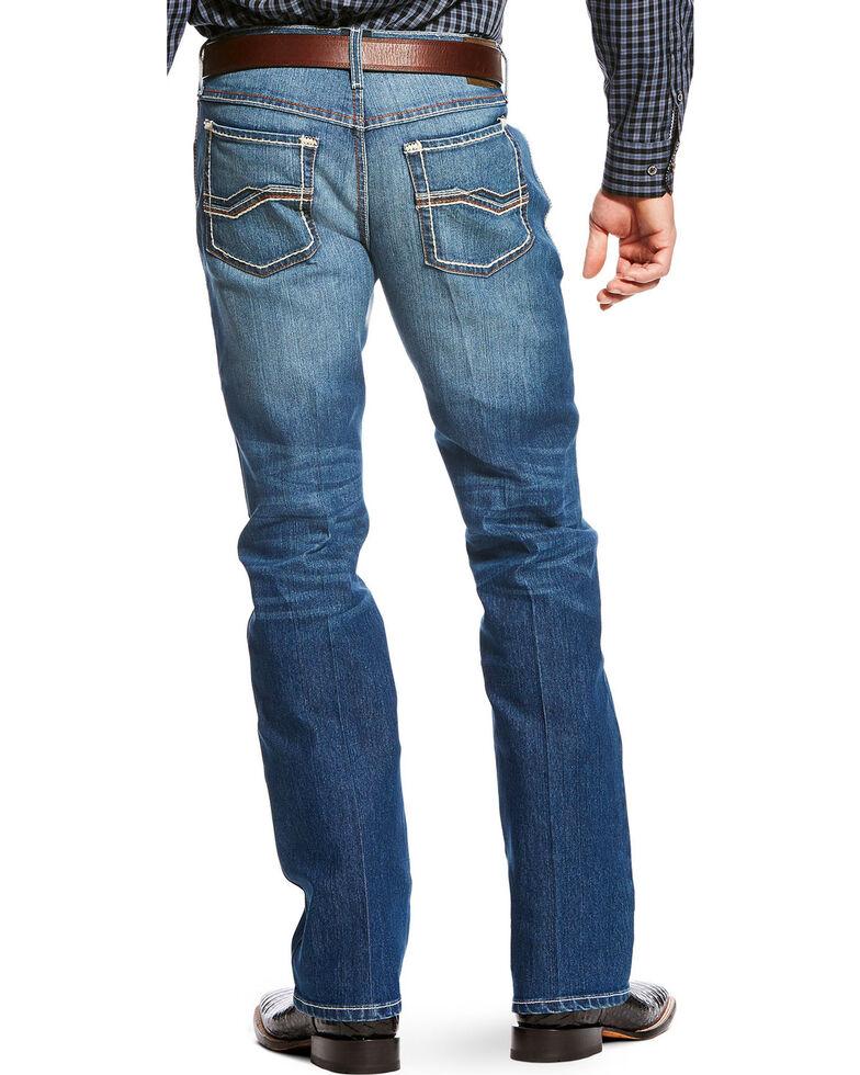 Ariat Men's Blue RLS Original Fit Outpost Straight Jeans , Blue, hi-res