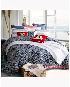 HiEnd Accents St. Clair Super Queen Bedding Set, Blue, hi-res