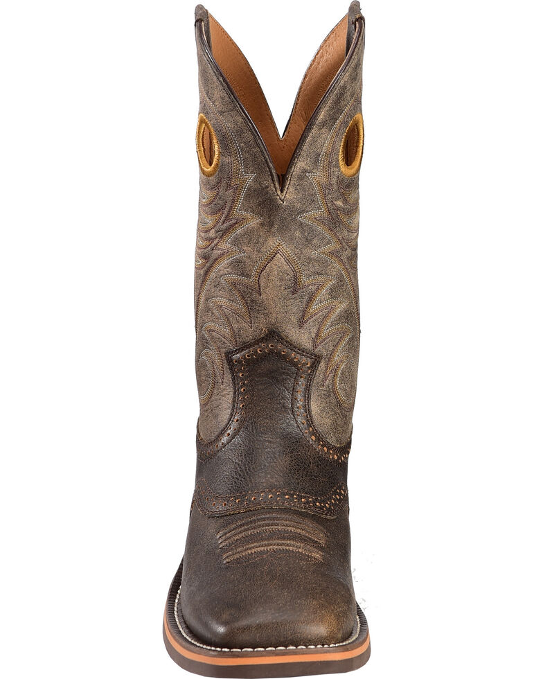 f15e789f9a3 Ariat Men's Brown Heritage Roughstock Western Boots - Square Toe