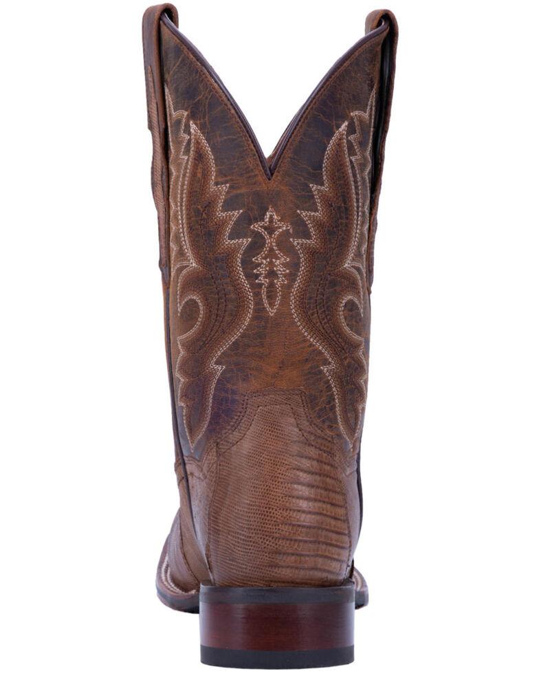 Dan Post Men's Thompson Western Boots - Wide Square Toe, Tan, hi-res