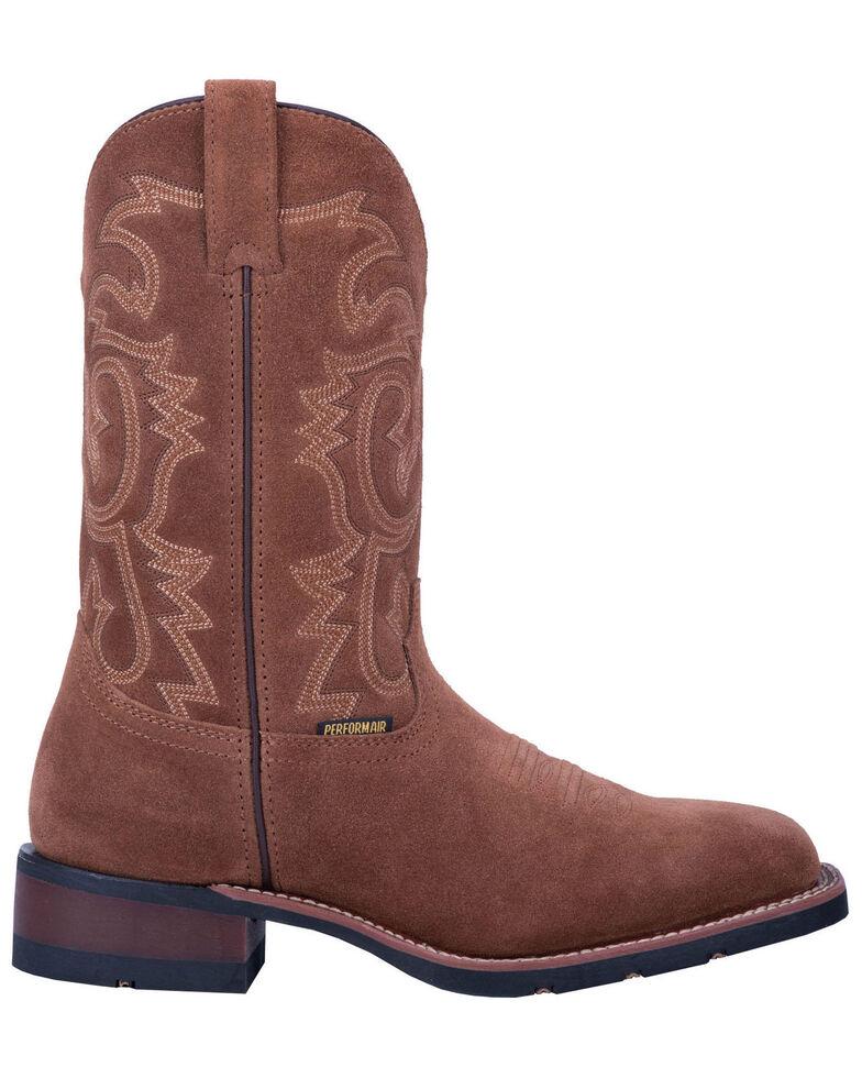Laredo Men's Hamilton Western Boots - Wide Square Toe, Tan, hi-res