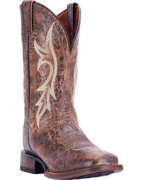 Dan Post Men's Chestnut Junction Boots - Square Toe, Chestnut, hi-res