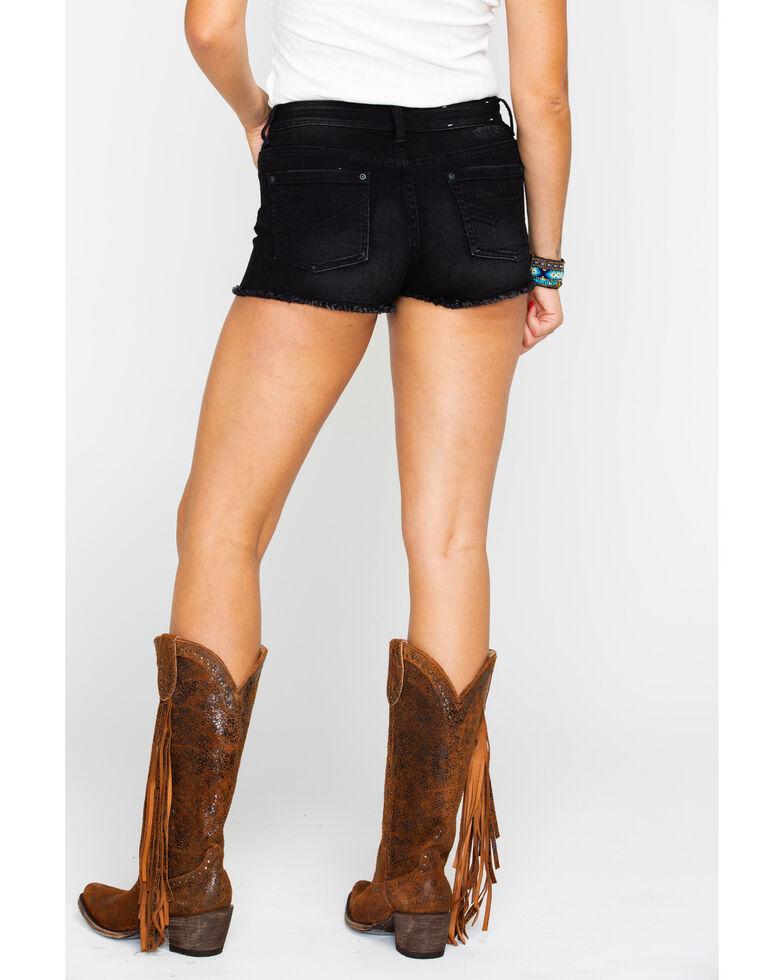 Idyllwind Women's Backyard Swagger Shorts , Black, hi-res