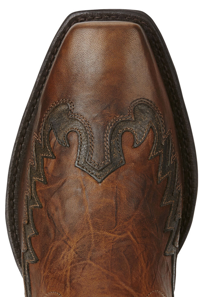 Ariat Men's Brown Rival Boots - Square Toe, Brown, hi-res