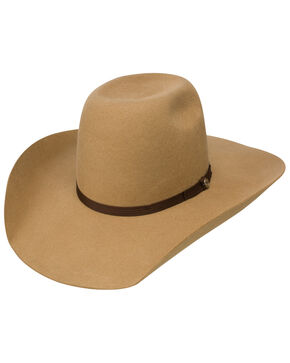 Hooey by Resistol Men's Day Money 4x Cowboy Hat, Pecan, hi-res