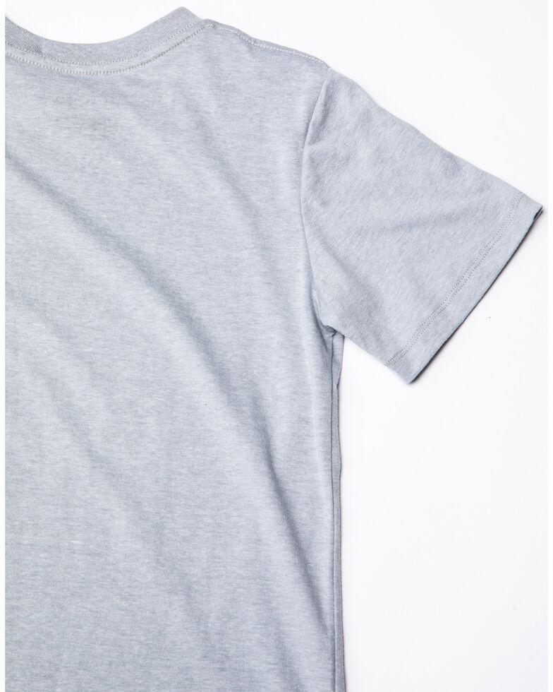 Rock & Roll Cowboy Boys' Premium Denim Rock & Roll Graphic T-Shirt , Grey, hi-res