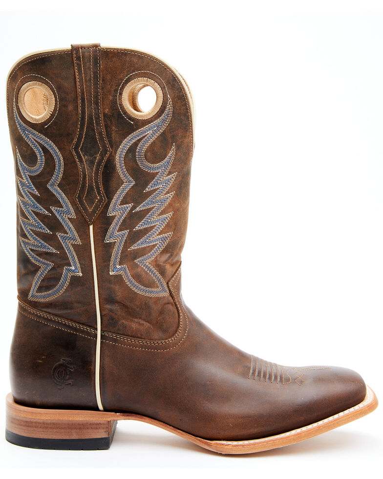 Cody James Men's Vanndale Western Boots - Wide Square Toe, Chocolate, hi-res