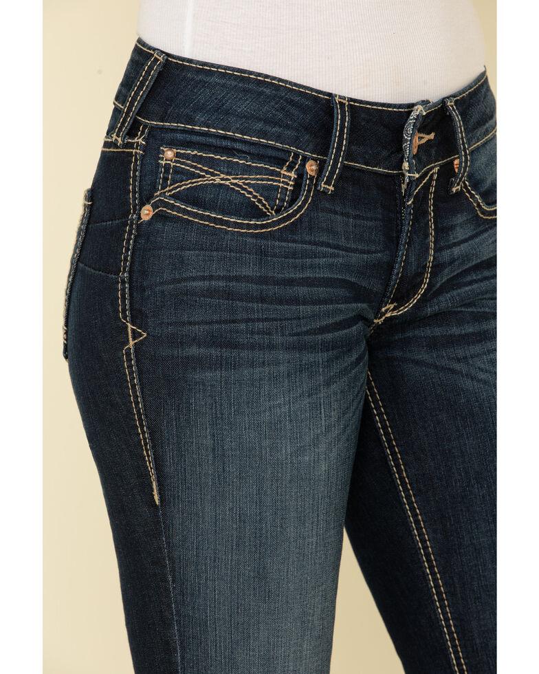 Ariat Women's Williow R.E.A.L. Remi Bootcut Jeans , Blue, hi-res