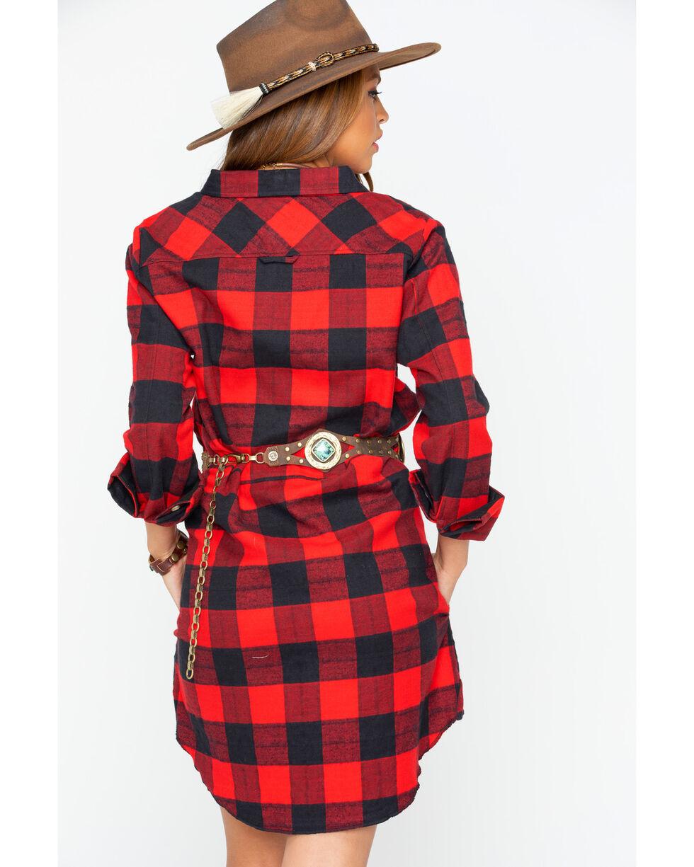 Tasha Polizzi Women's Big Guy Tunic Dress, Red, hi-res