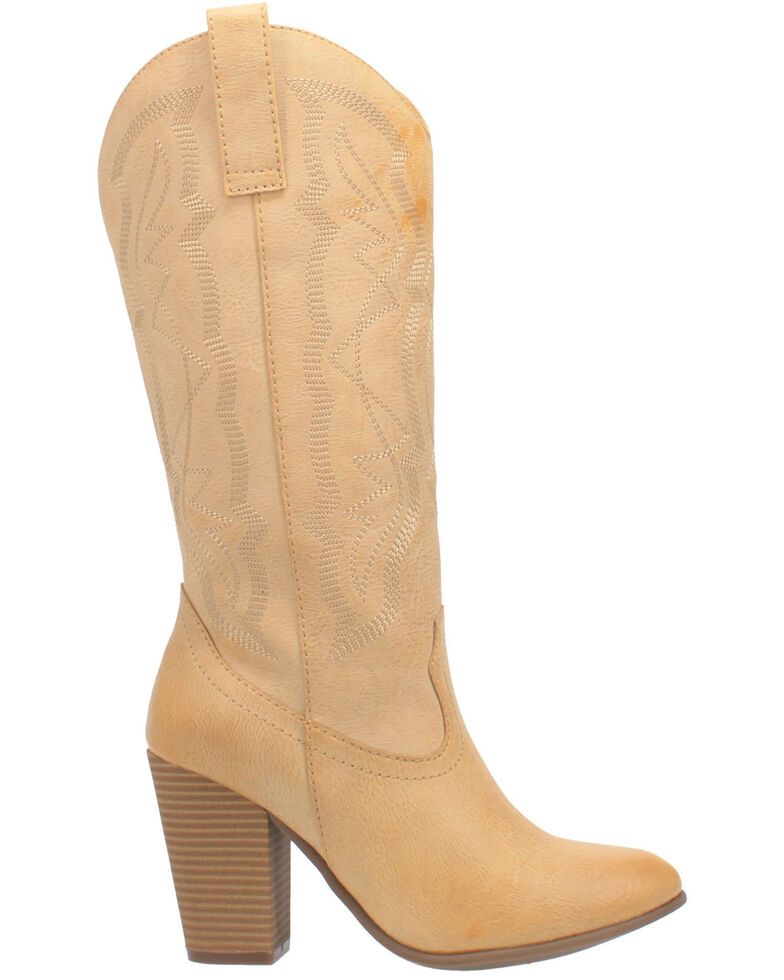 Code West Women's Kiki Western Boots - Round Toe, Natural, hi-res