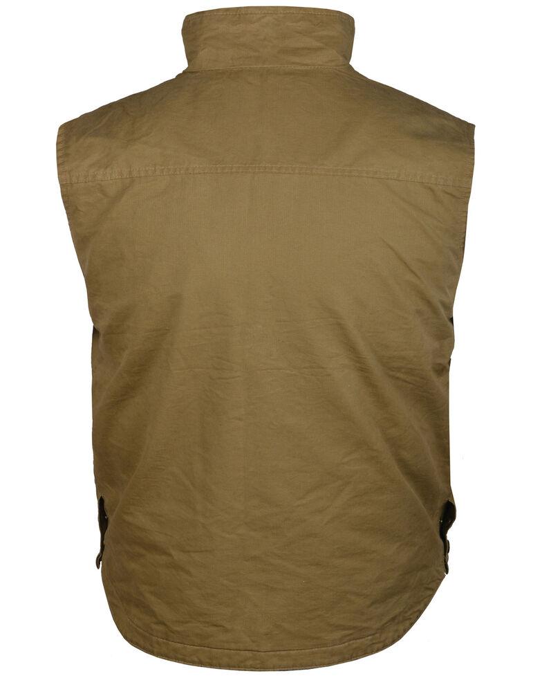 STS Ranchwear Men's Khaki Sundance Vest , Beige/khaki, hi-res