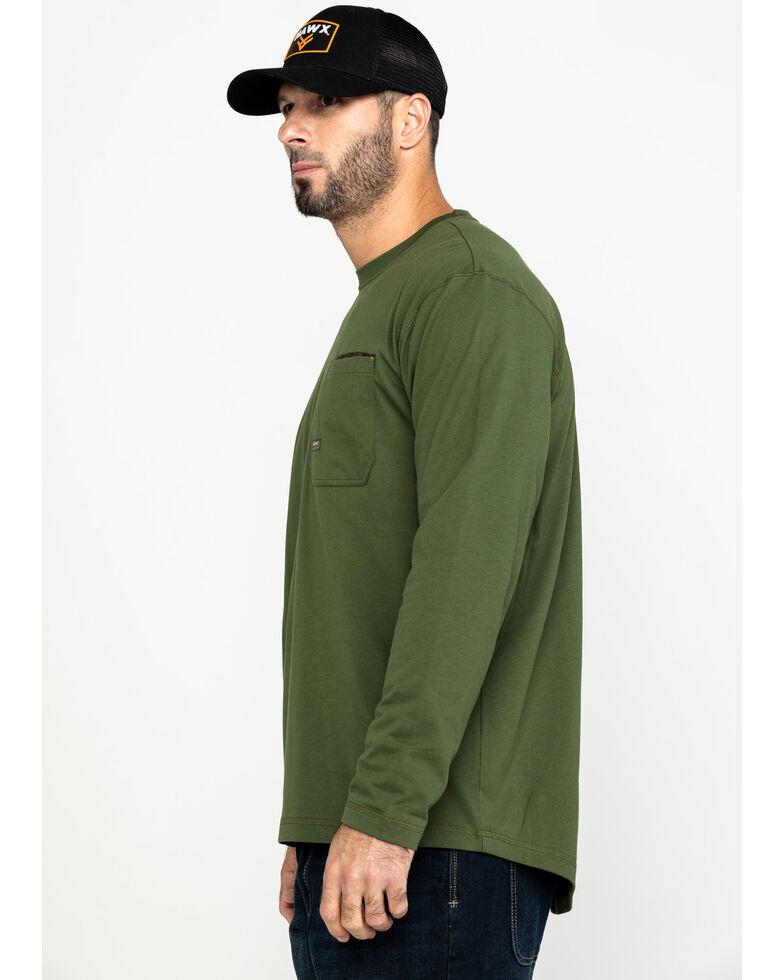Ariat Men's Rebar Workman Long Sleeve Work Shirt - Big & Tall , Green, hi-res