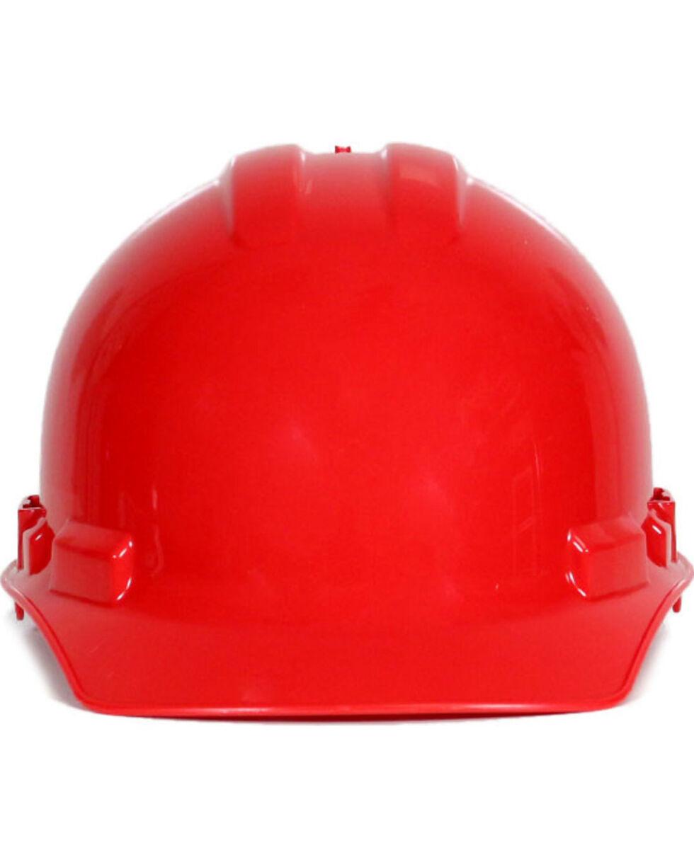 Radians Red Granite Cap Style Hard Hat , Red, hi-res